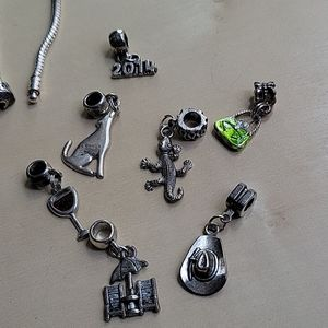 Bead Trails Bracelet & 18 charms